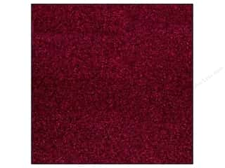 scrapbooking & paper crafts: Best Creation 12 x 12 in. Cardstock Glitter Wine Red (15 sheets)
