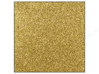 Best Creation 12 x 12 in. Cardstock Glitter Champagne (15 sheets)