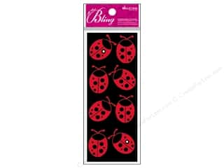 bling stickers: Jolee's Bling Stickers Ladybugs