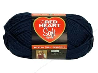 discontinued red heart yarn: Red Heart Soft Yarn 256 yd. #4604 Navy