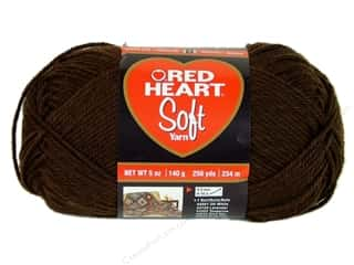 Red Heart Soft Yarn 256 yd. #9344 Chocolate