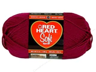 yarn & needlework: Red Heart Soft Yarn #9779 Berry 256 yd.
