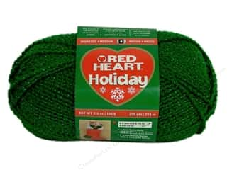 Red Heart Holiday Yarn #6060 Green/Green 235 yd.