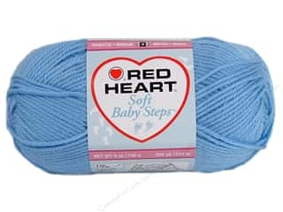yarn & needlework: Red Heart Soft Baby Steps Yarn 256 yd. #9800 Baby Blue