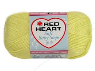 Weekly Specials Yarn & Needlework: Red Heart Soft Baby Steps Yarn #9200 Baby Yellow 256 yd.
