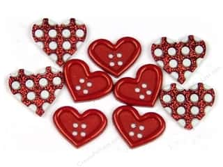 scrapbooking & paper crafts: Jesse James Dress It Up Embellishments Valentine Collection Gift Of Love