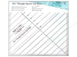 Weekly Specials Omnigrid Rulers: Quilt In A Day Ruler Triangle Square Up 9.5""