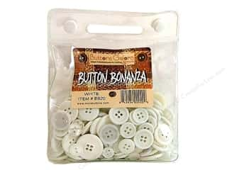 cover button: Buttons Galore Button Bonanza 1/2 lb. White
