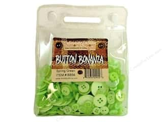 cover button: Buttons Galore Button Bonanza 1/2 lb. Spring Green