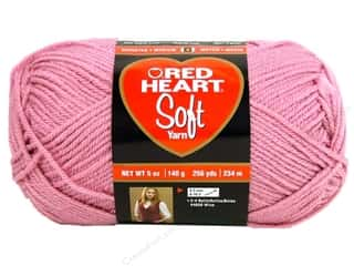 yarn: Red Heart Soft Yarn 256 yd. #9770 Rose Blush