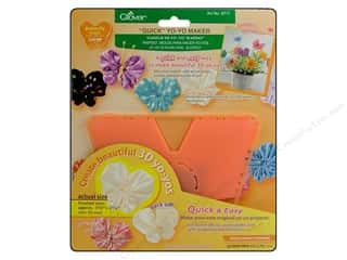 Quilting Supplies Clover: Clover Quick Yo-Yo Maker Butterfly 1 3/4 x 2 1/4 in. Large