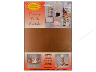 """Clearance Punch Studio Decorative Magnet: K&S Punch Metal Copper Sheet 6""""x 8"""""""