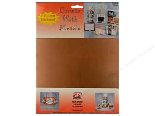 """Clearance Punch Studio Decorative Magnet: K&S Punch Metal Copper Sheet 8""""x 10"""""""