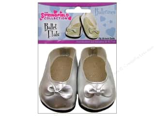 Fibre-Craft Doll Clothes The Springfield Collection Shoes Ballet Flats