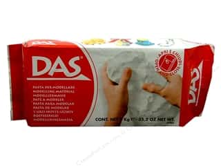 craft & hobbies: DAS Air-Hardening Clay 2.2 lb. White