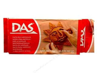 craft & hobbies: DAS Air-Hardening Clay 2.2 lb. Terracotta