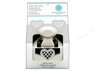 Martha Stewart Deep Edger Punch Lattice Heart
