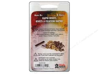 craft & hobbies: Tandy Leather Easy-To-Do Rivets & Setter 60 pc.