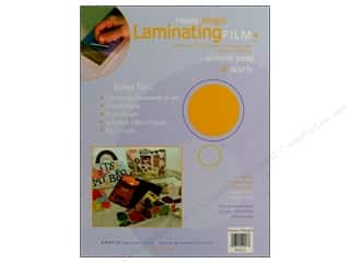 glues, adhesives & tapes: Grafix Laminating Film 9 in. x 12 in. Heavy Weight 3 pc