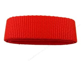 "PA Essentials Polypropylene Webbing 1""x 36"" Package Red"