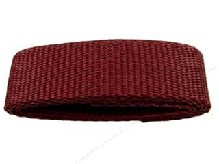 PA Essentials Polypropylene Webbing 1 x 36 in. Burgundy