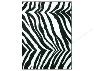Felt Sheet: CPE Printed Felt 9 x 12 in. Zebra (12 sheets)
