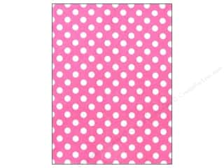 Felt Sheet: CPE Printed Felt 9 x 12 in. Polka Dot Pink (12 sheets)