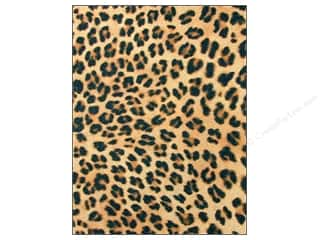 felt sheet: CPE Printed Felt 9 x 12 in. Cheetah (12 sheets)
