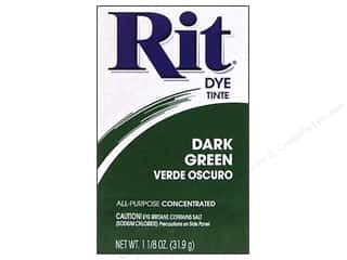 Rit Dye Powder 1 1/8 oz. Dark Green