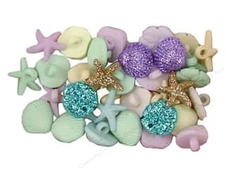 scrapbooking & paper crafts: Jesse James Dress It Up Embellishments Tiny Seashells