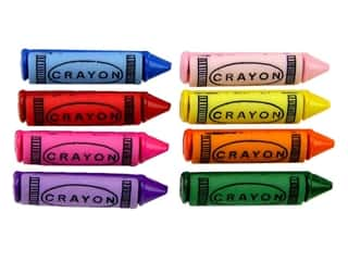 Jesse James Embellishments - Button Fun Crayons