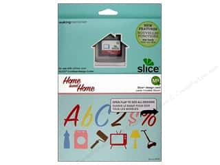 die cutting machines: Slice Design Card Making Memories MS+ Home Sweet Home