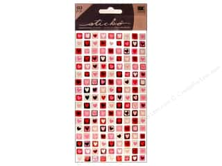 Valentines Day Gifts Paper: EK Sticko Stickers Valentine Mini Stamps