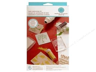 Martha Stewart Tools Heat Embossing Kit