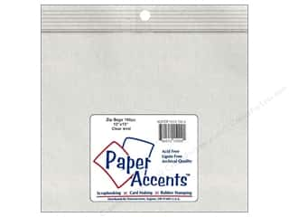 Needlework Organizer: Paper Accents 4 Mil Zip Bags 13 x 13 in. Clear 100 pc.