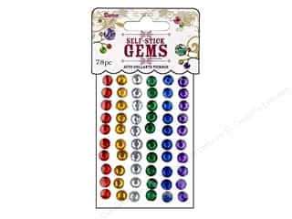 Darice Self-Stick Gems 7 mm Round 78 pc. Primary