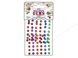 resin: Darice Self-Stick Gems 5 mm Round 78 pc. Juicy Jewel