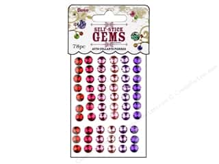 Darice Self-Stick Gems 6 mm Round 78 pc. Princess