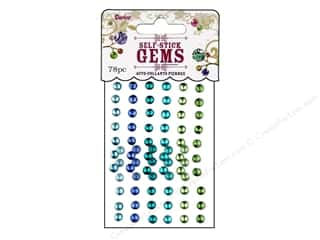 Darice Self-Stick Gems 5 mm Round 78 pc. Go Green