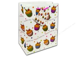 gifts & giftwrap: Medium Gift Bag by Cindus Birthday Cupcake