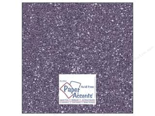Cardstock 12 x 12 in. #5116 Glitz Silver/Violet by Paper Accents
