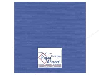 Paper Accents Cardstock 12 x 12 in. #8086 Muslin American Blue (25 sheets)