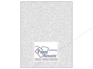 glitz cardstock: Cardstock 8 1/2 x 11 in. #5101 Glitz Silver/Fairy Dust by Paper Accents (25 sheets)
