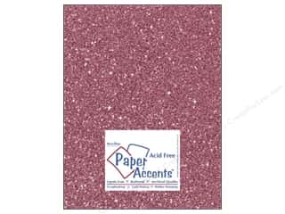 Cardstock 8 1/2 x 11 in. #5106 Glitz Silver/Rose Bud by Paper Accents (25 sheets)