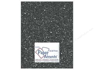 glitz cardstock: Cardstock 8 1/2 x 11 in. #5118 Glitz Silver/Midnight by Paper Accents (25 sheets)