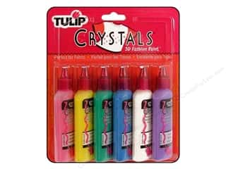 Tulip 3D Fashion Paint Set 6 pc. Glitter: Tulip 3D Fashion Paint Set 6 pc. Crystals