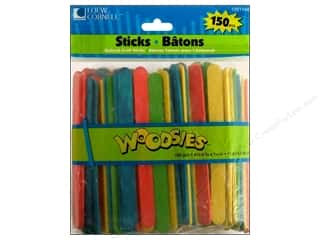 Woodsies Craft Stick 150 pc. Colored