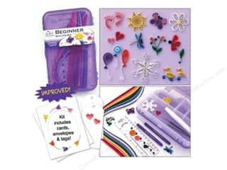 Projects & Kits: Quilled Creations Quilling Kit Beginner Box