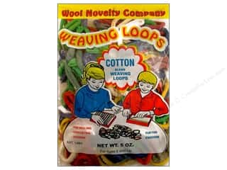 novelties: Wool Novelty Weaving Loops 5 oz. Assorted