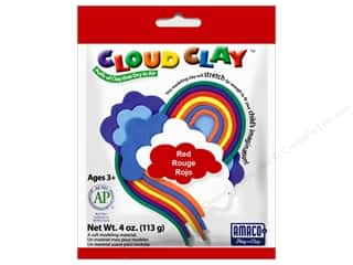 AMACO: AMACO Cloud Clay 4 oz. Red
